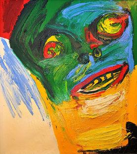 Bengt Lindström Art Work The Crazy, 1988 @ Curt Aspelin foto Pekka Ronkainen