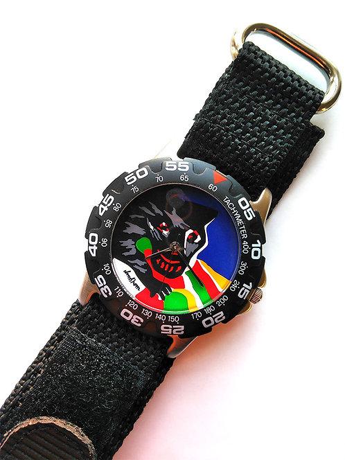 Bengt Lindström design, armbandsur Vargen, samlarobjekt