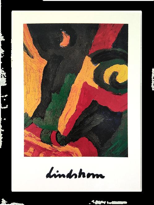 """Konstkort 5 st, A6, motiv """"Frej"""", 1983"""