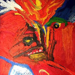 Bengt Lindström Art Work Red Magic, 1995 @ Curt Aspelin foto Pekka Ronkainen