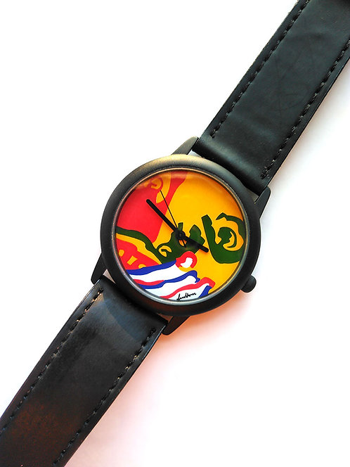 Bengt Lindström design, armbandsur Solguden, Collection 2000, samlarobjekt