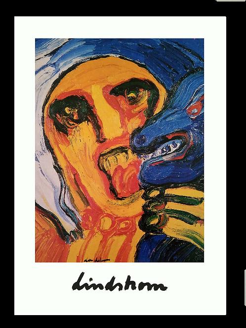 "Konstkort 5 st, A4, motiv ""Fåraherden"", 1974"