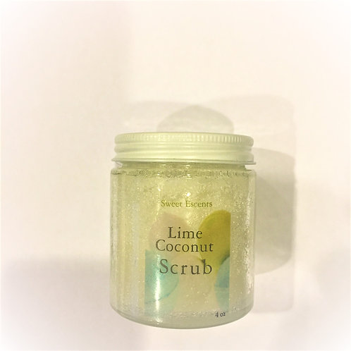 Lime and Grapefruit Body Scrub