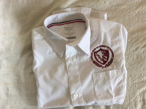 Savant Prep Academy Boys' White Dress Shirt