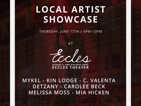 STRT + Open Streets: Local Artist Showcase at The Eccles