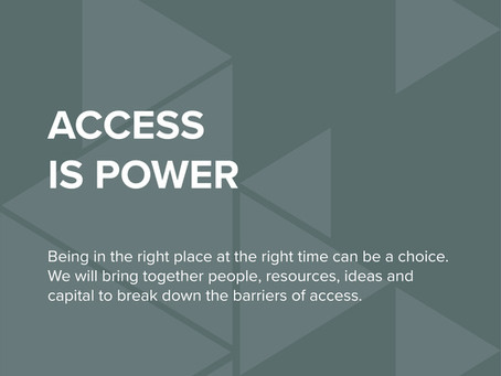 STRT Values - Access is Power