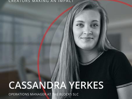 STRT Spotlight -  Creators Making an Impact, Cassandra Yerkes