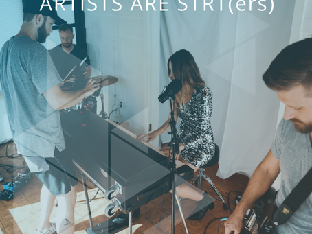 Artists are STRT(ers)