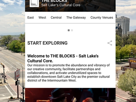 The Blocks releases an app to experience art in the SLC