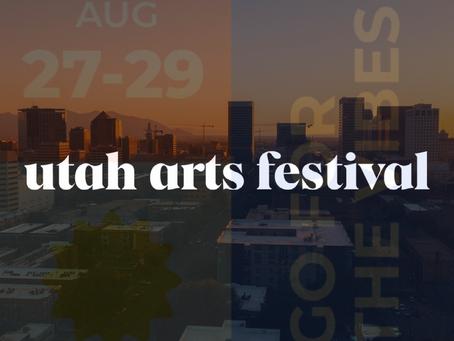 2021 Utah Arts Fest - This Weekend