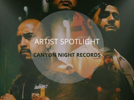 Artist Spotlight: Canyon Night Records