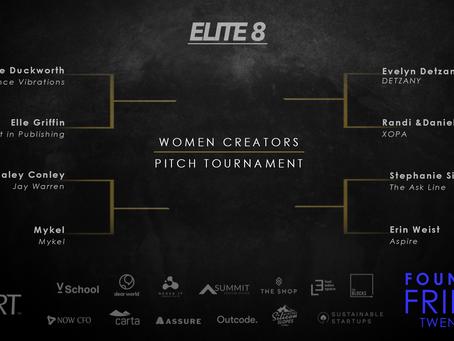 Women Creators Pitch Tournament - Elite 8