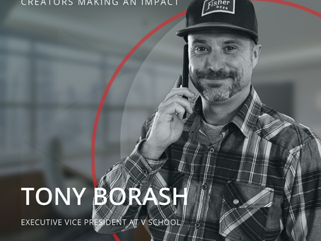 STRT Spotlight -  Creators Making an Impact, Tony Borash