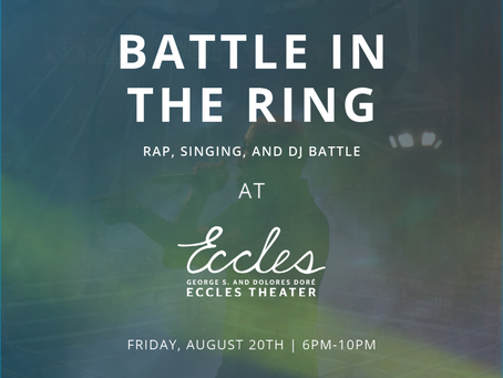 """Announcing - Founders' Friday: """"Battle in the Ring"""" + Open Streets"""