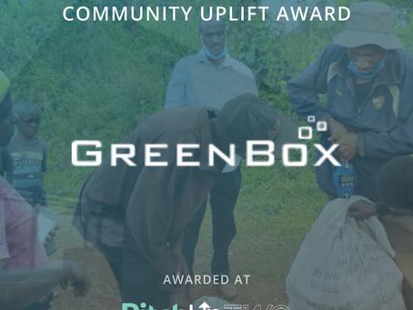STRT Community Uplift Award - GreenBox