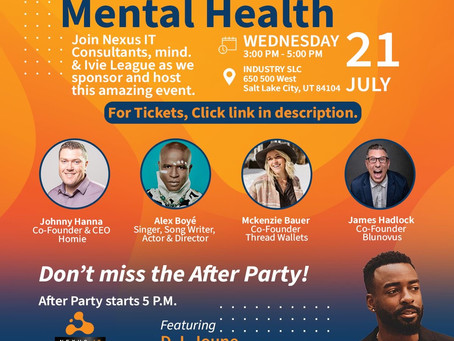 """""""Stand Up for Mental Health"""" at Industry SLC"""