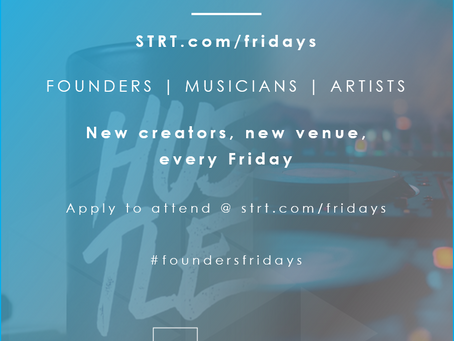 Announcing Founders' Fridays