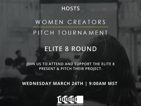 Women Creators Pitch Tournament - Elite 8 Round at 1 Million Cups Salt Lake City