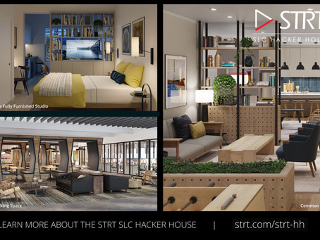 Learn more about the STRT SLC Hacker House experience