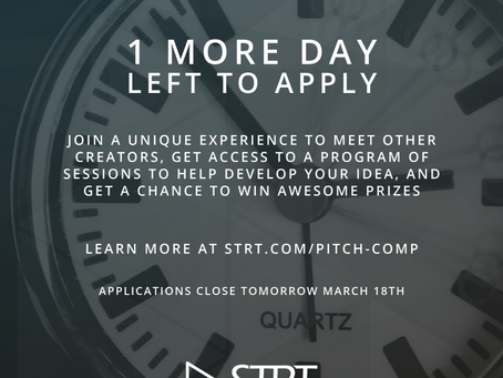 1 More Day to Apply for the Women Creators Pitch Tournament