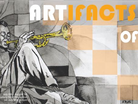 ARTifacts of Sound Exhibit Showcasing at Urban Arts Gallery