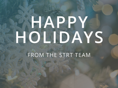 Happy Holidays from the STRT Team!
