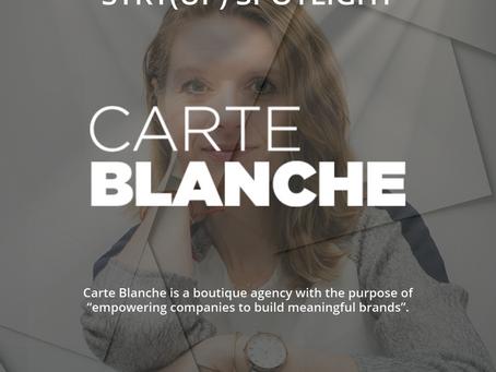 STRT(up) Spotlight - Carte Blanche