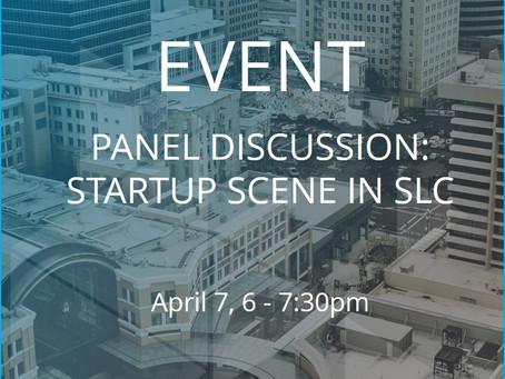 Event - Startup Scene in SLC, Panel