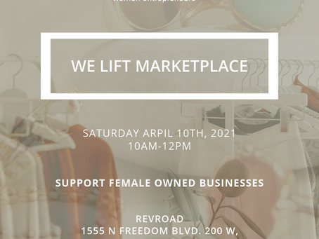 Support Female Creators at the UVU We Lift Marketplace