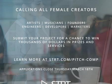 Women Creators Wanted - Pitch Tournament