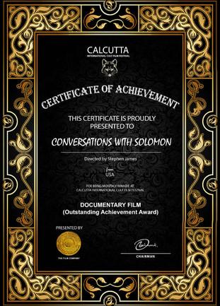 Documentary Series Recognized by Calcutta Film Festival