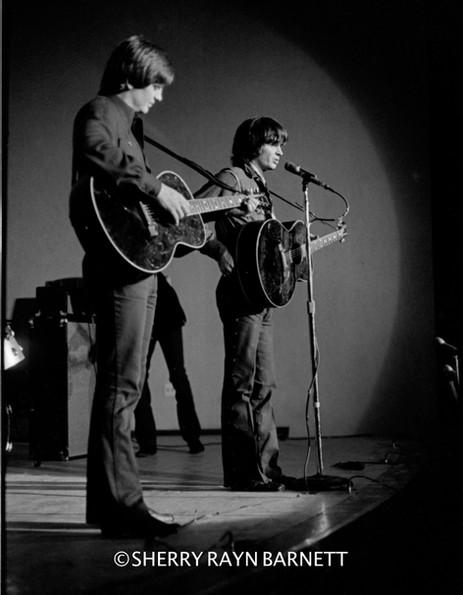 The Everly Brothers 1969,  NYU, New York City