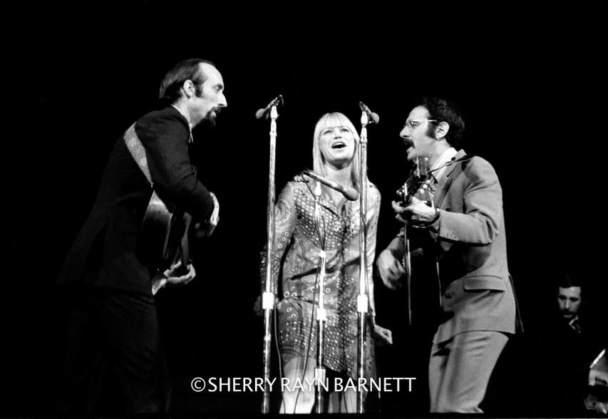 Peter, Paul & Mary 1969, Carnegie Hall, NYC