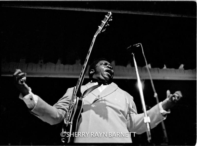 B.B. King 1970, Brooklyn Academy of Music, NYC