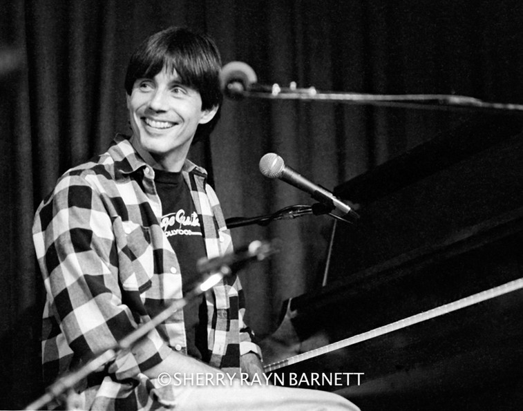 JACKSON BROWNE, 1984 MC CABE'S GUITAR SHOP, SANTA MONICA, CA