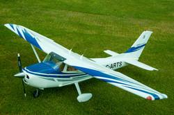 # - 523 - Blue & White Cessna - C-ARTS