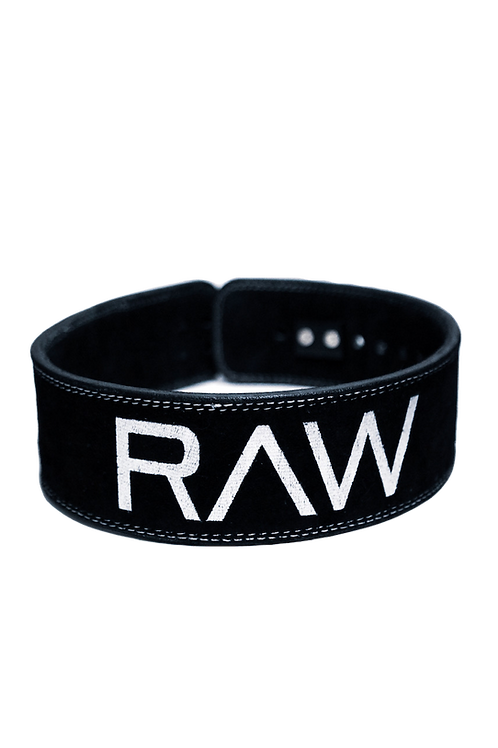 RAW Lever Belt - Shadow Black