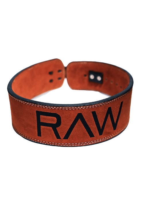 RAW Lever Belt - Vibrant Red