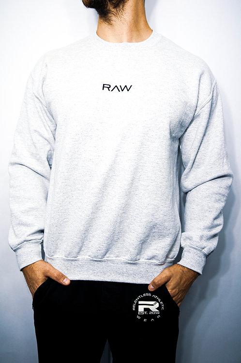 RAW Crewneck - Ash Grey