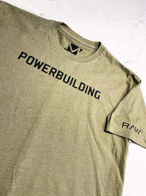 """Powerbuilding"" Fitted T."