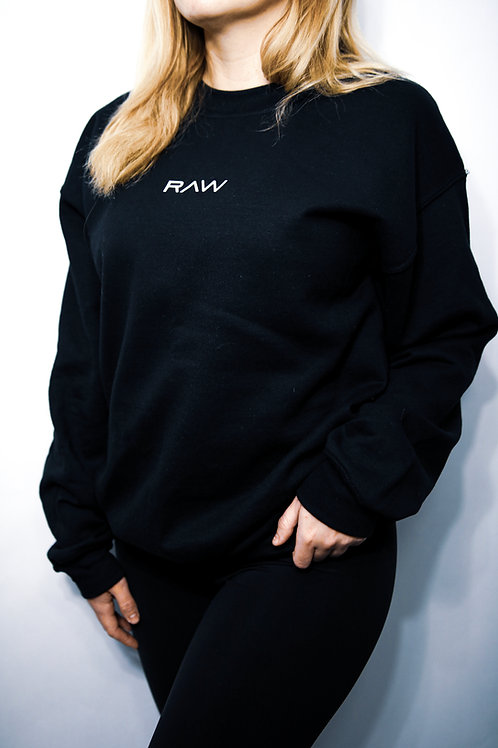 RAW Crewneck - Black