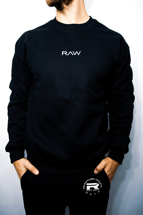 RAW Crewneck - Black