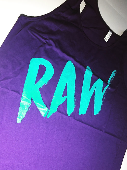 90's Tank - Purple/Bright Blue