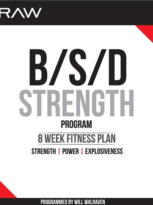 BSD 8 Week Strength Program