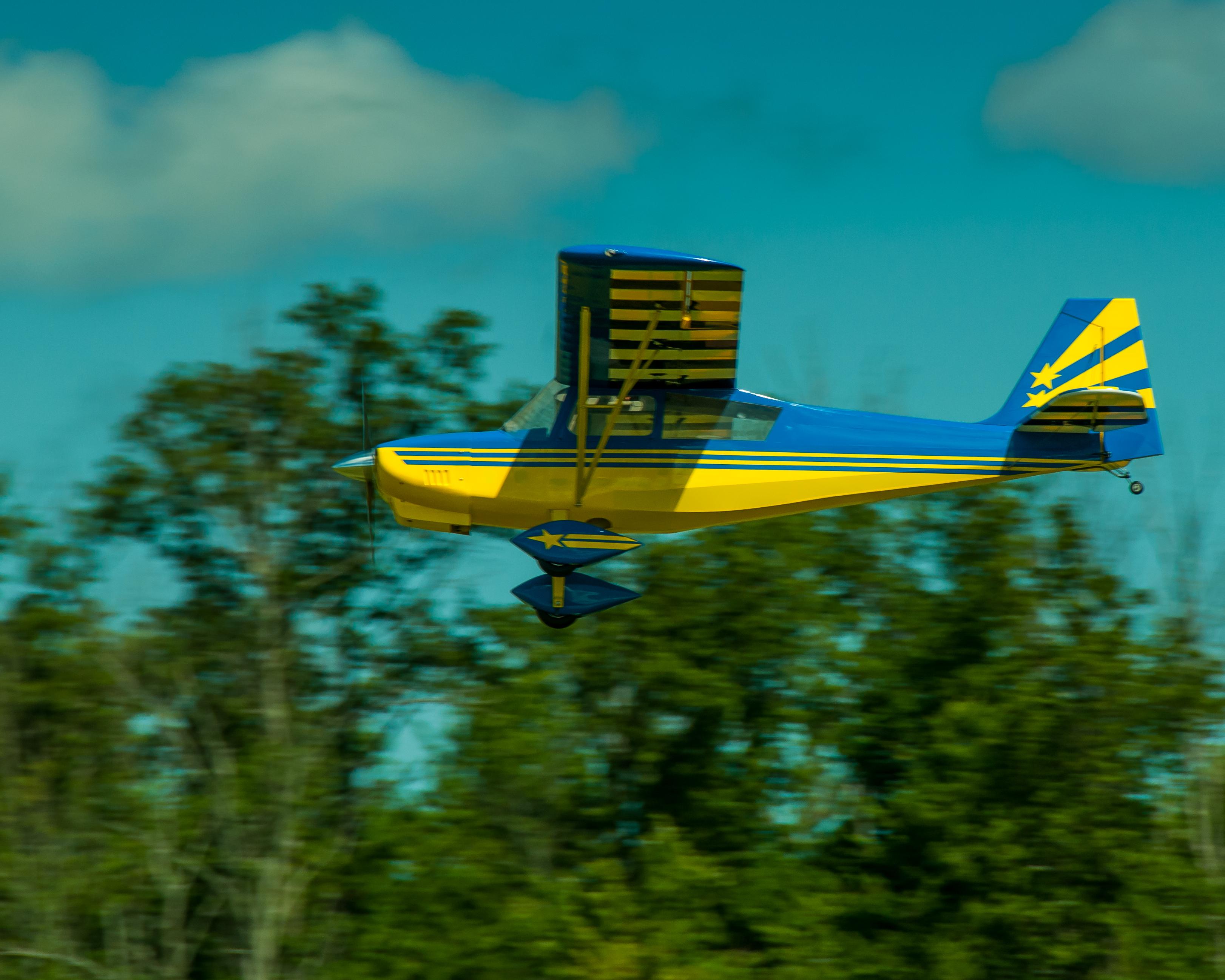 # - 366 - Blue & Yellow Decathlon