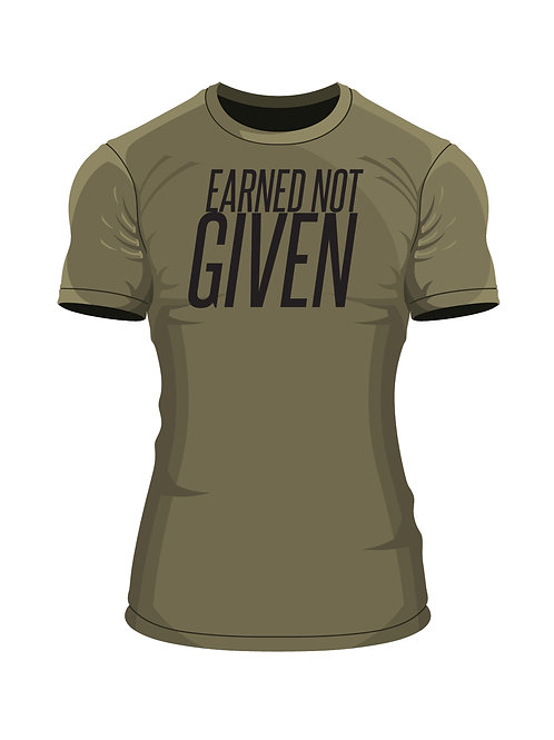 """""""Earned Not Given"""" Fitted T."""