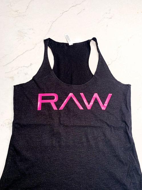 """RAW"" Racerback"