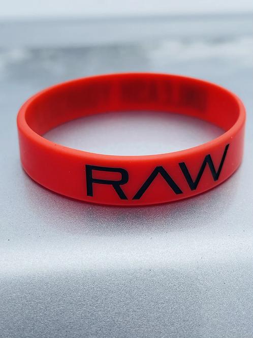 RAW Wristband - Premium Red