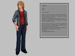 GABRIEL - Character design