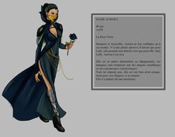 AURORA - Character design